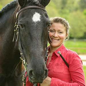Sandra Ciano, Dirigeante de l'Ecole d'Equitation Equizones